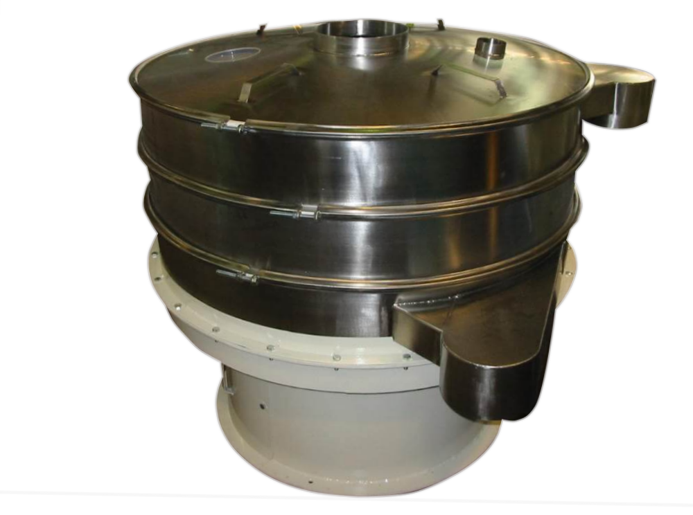 multiple fraction vibrating sieve
