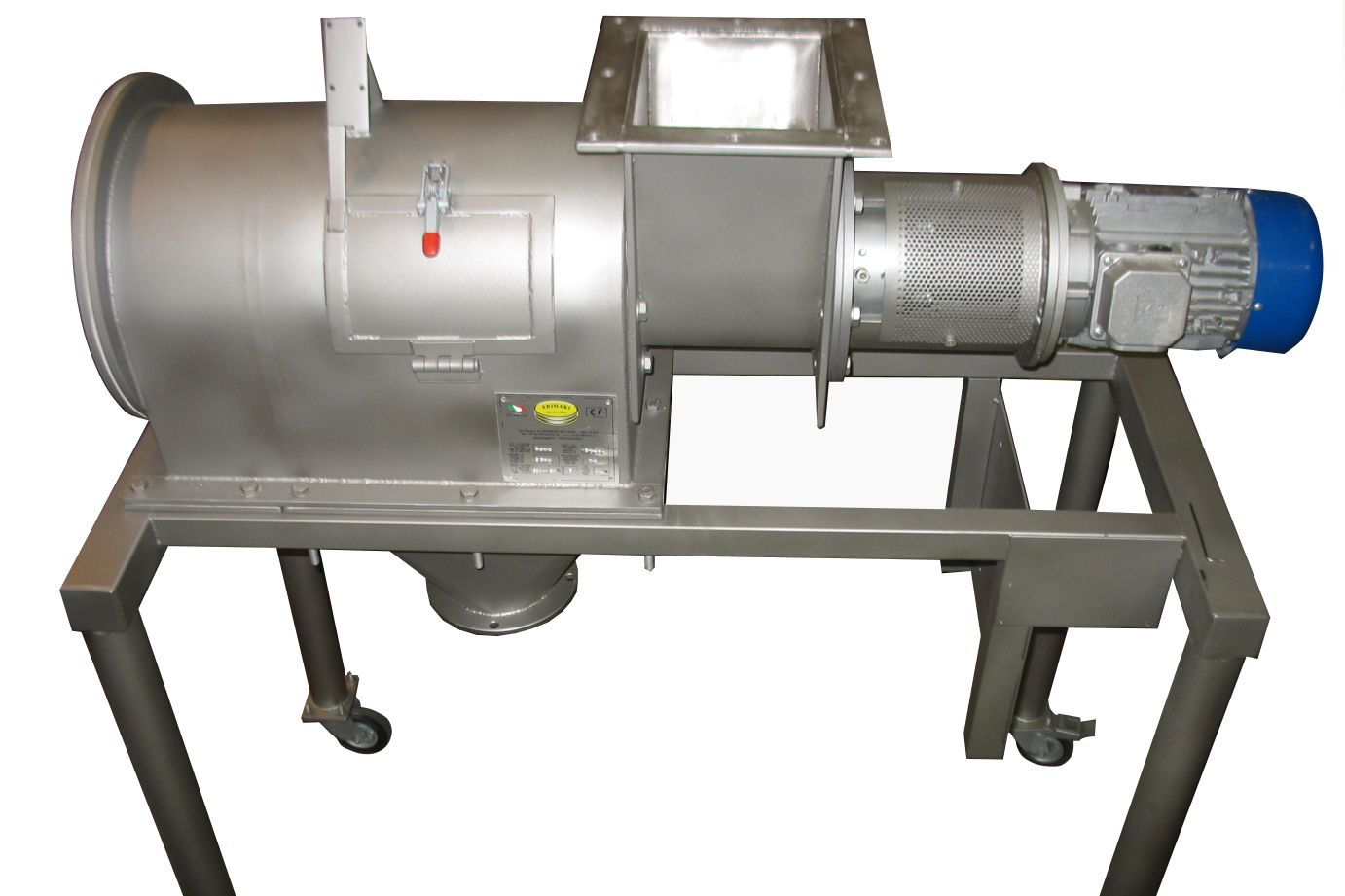 Rotary Separator example mirror polish