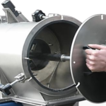 Rotary sieve remove contamination