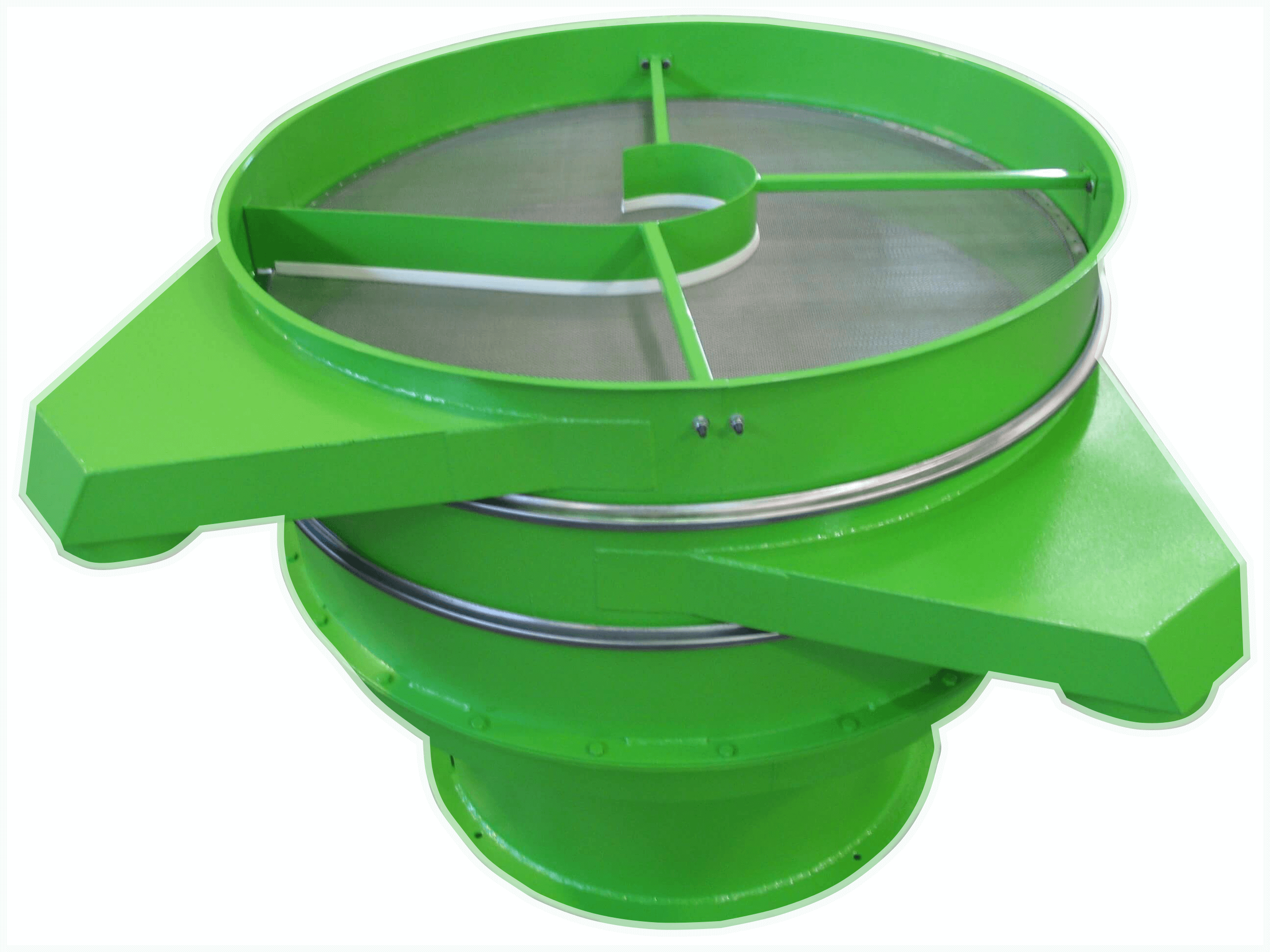 painted carbon steel vibrating sieve